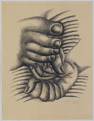Плакат Foot and Hands