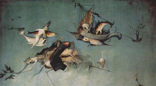 Плакат Versuchung des Hl. Antonius (Detail)