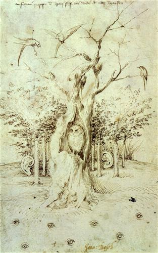 Плакат The Trees Have Ears and the Field Has Eyes by Hieronymus Bosch