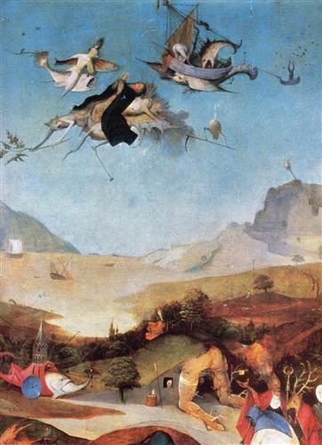 Плакат The Temptation of St. Anthony (Detail)