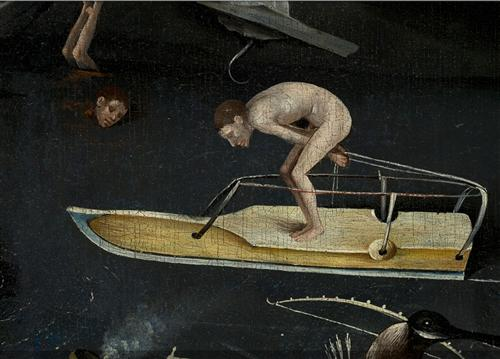 Постер на подрамнике The Garden of Earthly Delights, right panel (Detail
