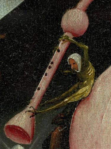 Плакат The Garden of Earthly Delights, right panel (Detail