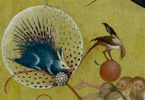 Плакат The Garden of Earthly Delights, central panel (Detail
