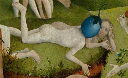Плакат The Garden of Earthly Delights, center panel (Detail