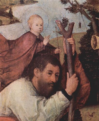 Плакат Hl. Christophorus (Detail)