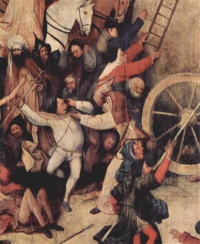 Плакат Heuwagen, Triptychon, Mitteltafel