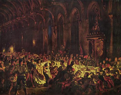Постер на подрамнике Ermordung des Bischofs von Luttich