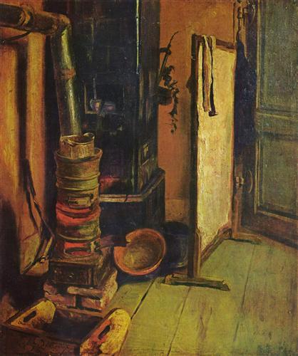 Постер на подрамнике Eine Ecke des Ateliers