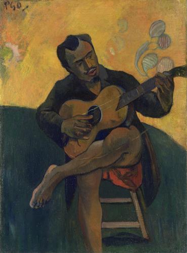 Постер на подрамнике The Guitar Player