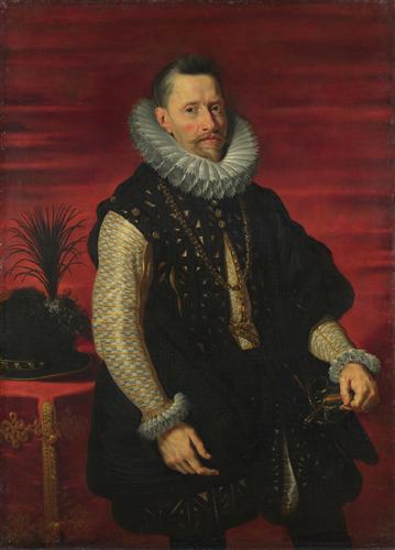 Плакат Portrait of the Archduke Albert