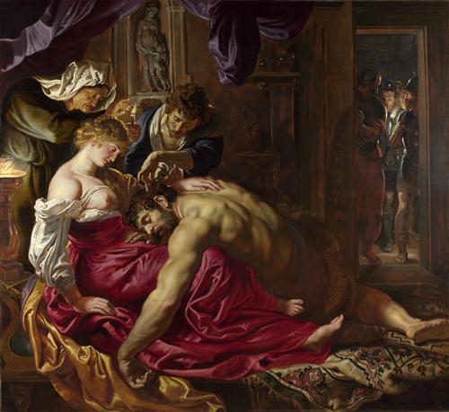 Плакат Samson and Delilah