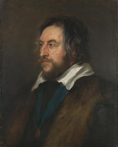 Постер на подрамнике Portrait of Thomas Howard, 2nd Earl of Arundel