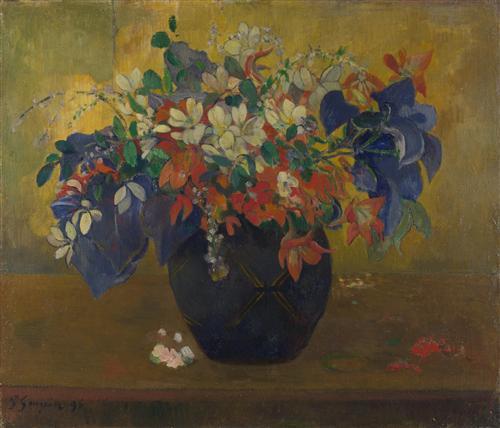 Постер на подрамнике A Vase of Flowers