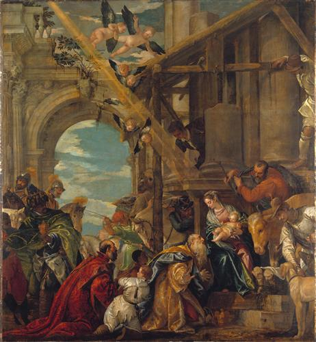 Постер на подрамнике The Adoration of the Kings