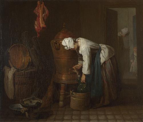 Постер на подрамнике La Fontaine (The Water Cistern)