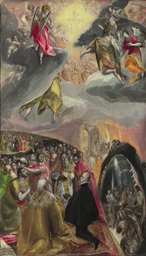 Плакат The Adoration of the Name of Jesus