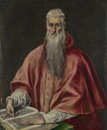 Постер на подрамнике Saint Jerome as Cardinal