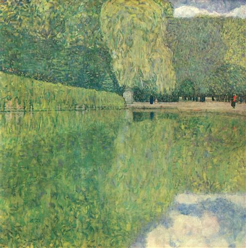 Плакат Schonbrunner Park
