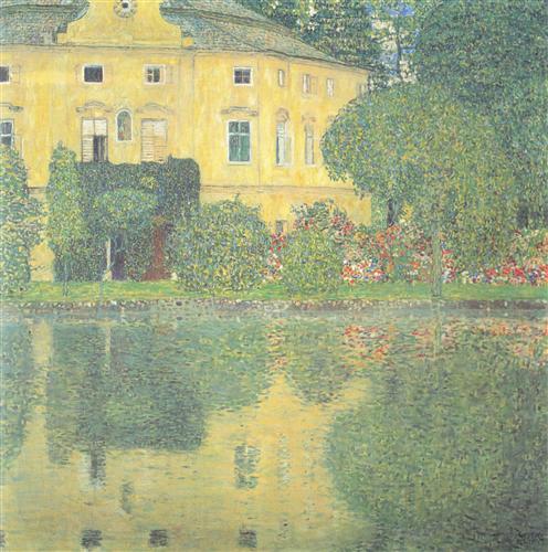 Постер на подрамнике Schloss Kammer am Attersee IV