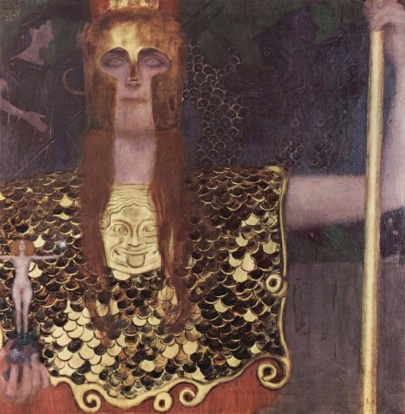 Постер на подрамнике Pallas Athene