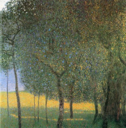 Постер на подрамнике Obstbaume