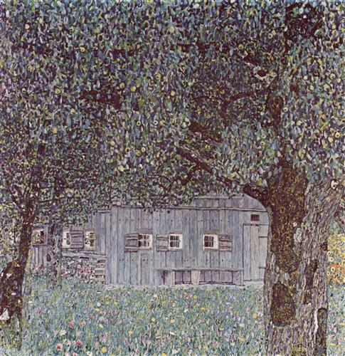 Постер на подрамнике Oberosterreichisches Bauernhaus