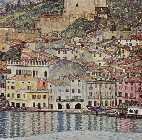Плакат Malcesine am Gardasee
