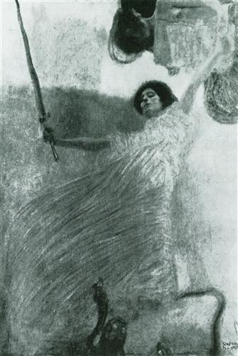 Плакат Jurisprudenz (Kompositionsentwurf)