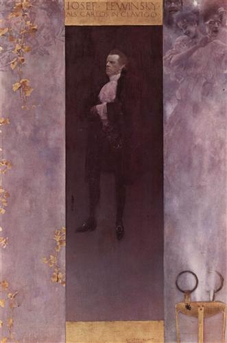 Плакат Hofburgschauspieler Josef Lewinsky als Carlos