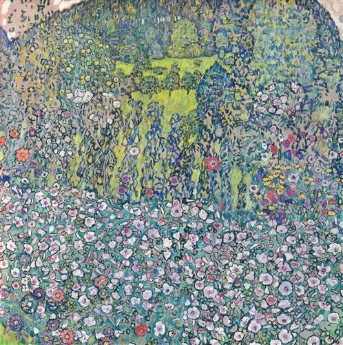 Плакат Gartenlandschaft mit