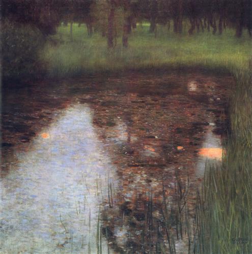 Постер на подрамнике Der Sumpf