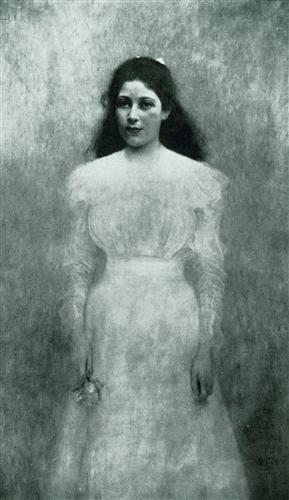Плакат Bildnis Trude Steiner