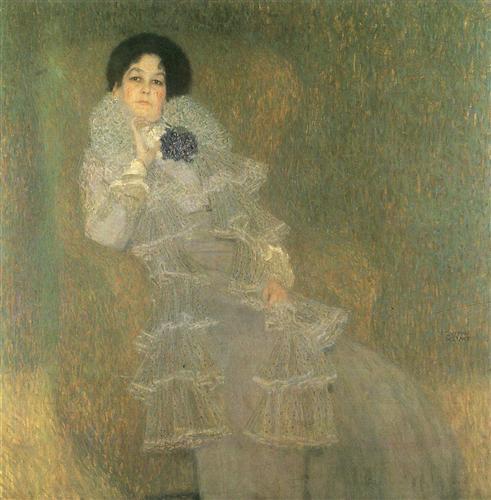 Постер на подрамнике Bildnis Marie Henneberg (Portrat in Lila)