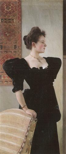 Постер на подрамнике Bildnis Marie Breunig