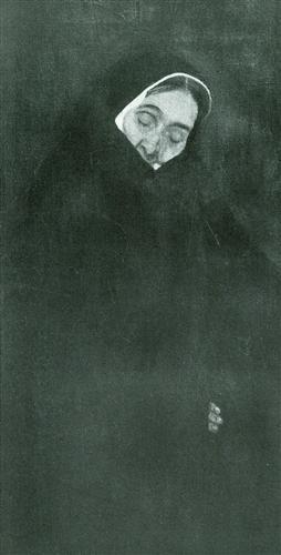 Постер на подрамнике Alte Frau