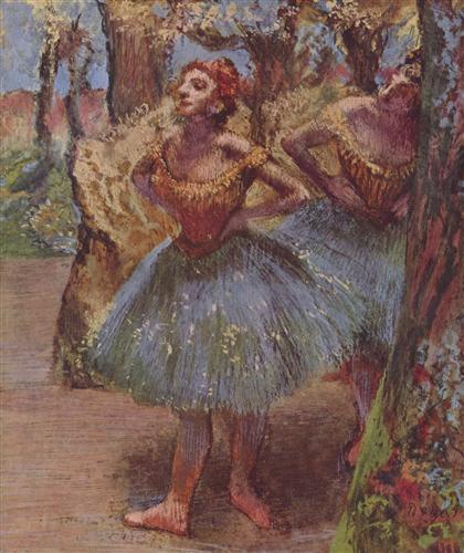 Постер на подрамнике Tanzerinnen