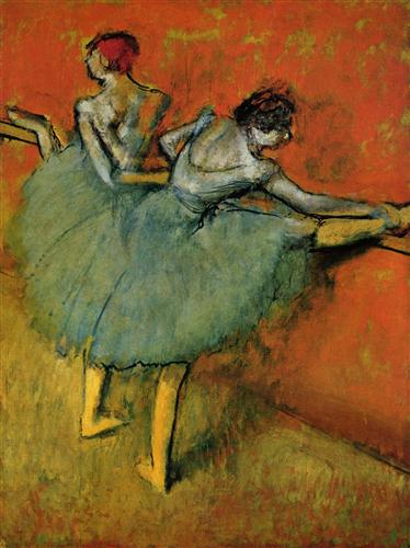 Плакат Tanzerinnen an der Stange