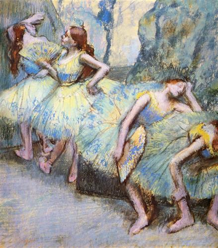 Плакат Danseuses dans les coulisses