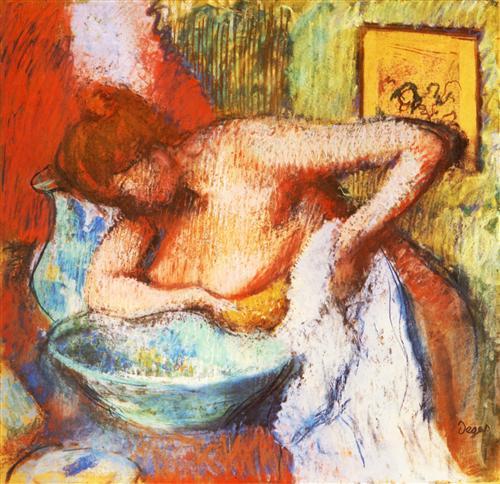 Плакат La Toilette
