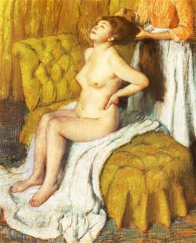 Постер на подрамнике La Toilette