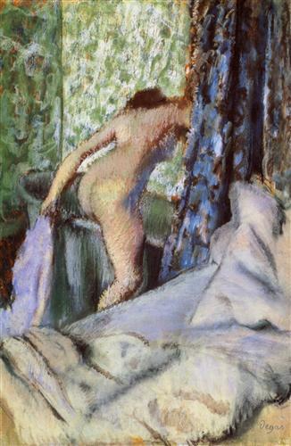 Постер на подрамнике Le Bain, le bain matinal
