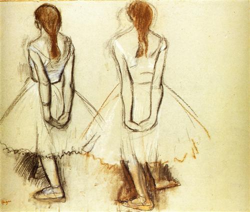 Постер на подрамнике Etude pour la Petite danseuse de quatorze ans
