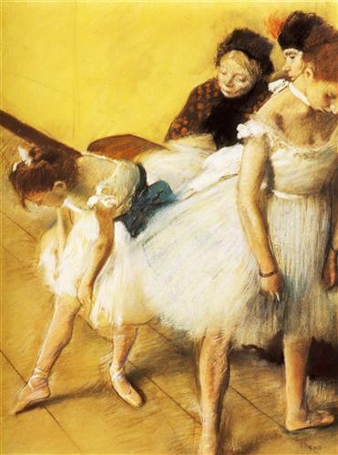 Постер на подрамнике Examen de Danse, Danseuses a leur toilette