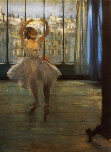 Плакат Danseuse posant chez un photographe