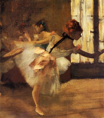 Постер на подрамнике La Repetition de Danse, detail