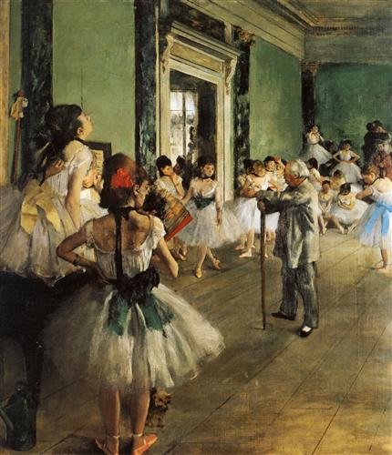 Плакат La Classe de Danse
