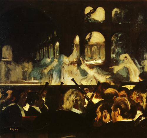 Плакат Ballet de Robert le Diable
