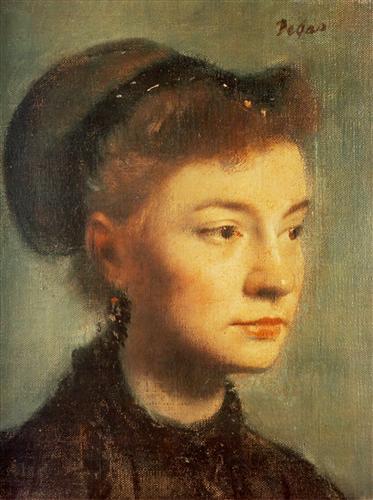 Постер на подрамнике Portrait de Jeune femme