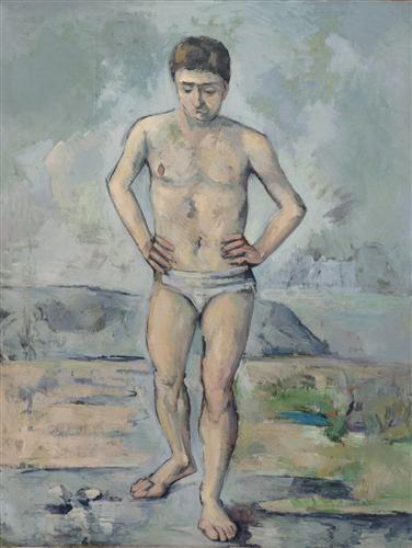 Постер на подрамнике The Bather