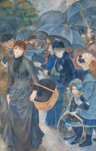 Постер на подрамнике The Umbrellas